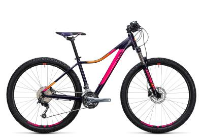 CUBE Access WLS Pro 29er aubergine 'n pink 2017