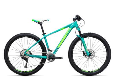 CUBE Access WLS GTC Pro Woman 2x 29er mint 'n green 2017
