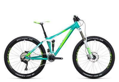 CUBE Sting WLS 140 Race 27.5 2x Woman mint 'n green 2017