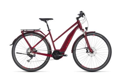CUBE Touring Hybrid EXC 500 Trapeze darkred 'n' red 2018
