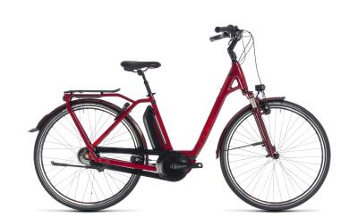 CUBE Town Hybrid Pro 500 Easy Entry darkred 'n' red 2018