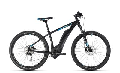 CUBE Access Hybrid ONE 500 black 'n' aqua 2018