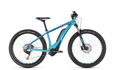CUBE Access Hybrid Race 500 Woman turquoise 'n' raspberry 2018