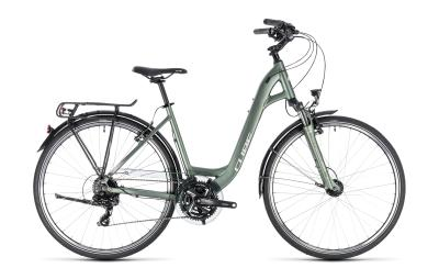 CUBE Touring Easy Entry green 'n' silver 2018
