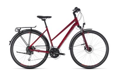 CUBE Touring EXC Trapeze darkred 'n' red 2018