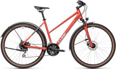 CUBE Nature Allroad red 'n' grey Trapeze 2021