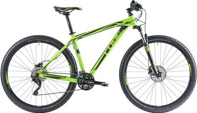 CUBE Attention SL 29er green 'n black 2014