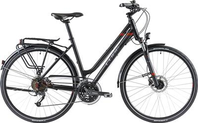 CUBE Travel Pro Lady black-grey-red 2014