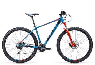 CUBE Acid 29er blue 'n flashred 2015
