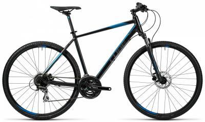 CUBE Curve Pro black-grey-blue 2016