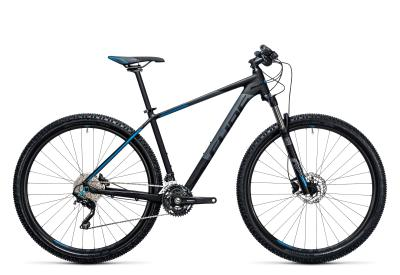 CUBE Attention 29er black 'n blue 2017