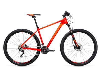CUBE Attention 29er red 'n flashorange 2017
