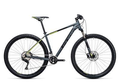 CUBE Acid 2x 29er darkgrey 'n flashyellow 2017