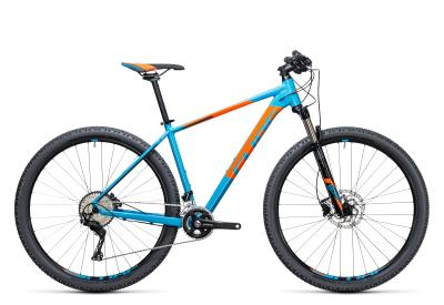CUBE Acid 2x 29er blue 'n flashorange 2017