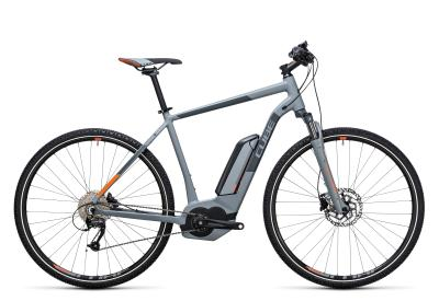 CUBE Cross Hybrid ONE 400 grey 'n orange 2017