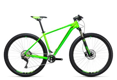 CUBE LTD Pro 2x 29er green 'n black 2017