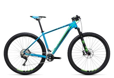 CUBE LTD SL 2x 29er blue 'n green 2017