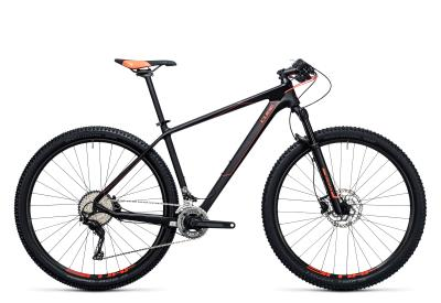 CUBE Reaction GTC 2x 29er carbon 'n flashred 2017