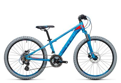 CUBE Kid 240 Disc blue 'n flashred 2017
