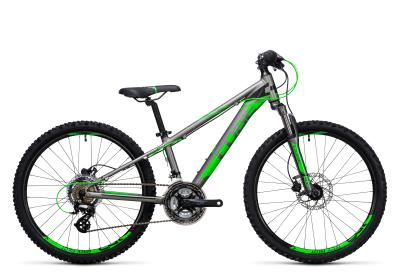CUBE Kid 240 Disc grey 'n flashgreen 2017