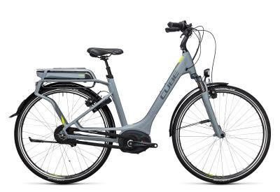 CUBE Delhi Hybrid 500 Easy Entry grey 'n lime 2017