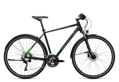 CUBE Cross Allroad black 'n flashgreen 2017