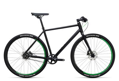 CUBE Hyde Race black 'n flashgreen 2017