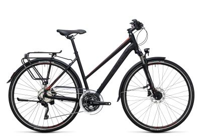 CUBE Touring SL Trapeze black 'n flashred 2017