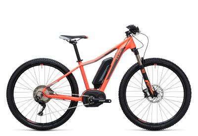 CUBE Access WLS Hybrid Race 500 29er coral 'n grey 2017