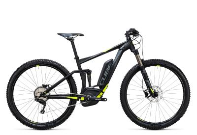 CUBE Stereo Hybrid 120 HPA Pro 500 29er black 'n flashyellow 2017