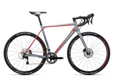 CUBE Cross Race Pro grey 'n flashred 2017