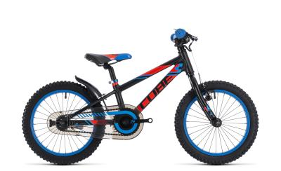 CUBE Kid 160 black 'n' flashred 'n' blue 2018