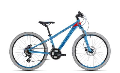 CUBE Kid 240 Disc blue 'n' flashred 2018