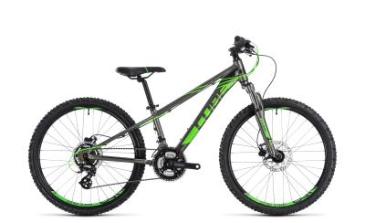 CUBE Kid 240 Disc grey 'n' flashgreen 2018