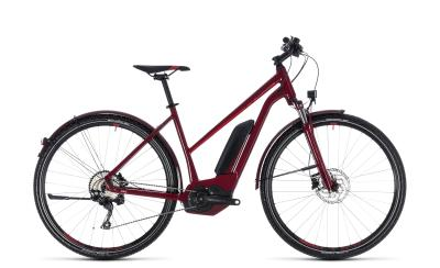 CUBE Cross Hybrid Pro Allroad 500 Trapeze darkred 'n' red 2018