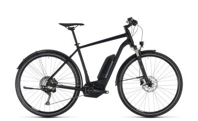 CUBE Cross Hybrid Race Allroad 500 black 'n' white 2018