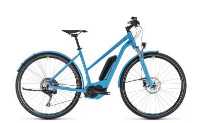 CUBE Cross Hybrid Race Allroad 500 Trapeze blue 'n' green 2018