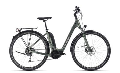 CUBE Touring Hybrid ONE 500 Easy Entry frostgreen 'n' silver 2018