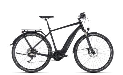 CUBE Touring Hybrid EXC 500 black 'n' grey 2018