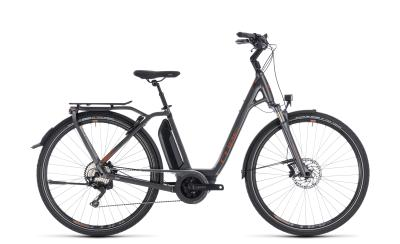 CUBE Town Hybrid Sport Pro 500 Easy Entry grey 'n' copper 2018