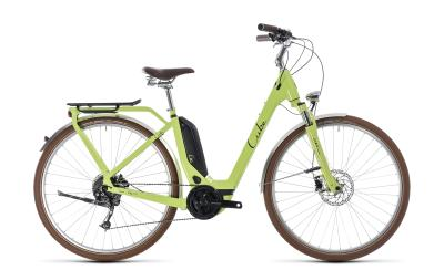 CUBE Elly Ride Hybrid 500 Easy Entry green 'n' black 2018