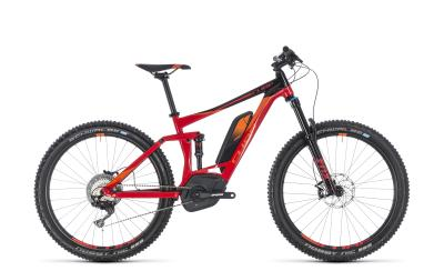 CUBE Stereo Hybrid 140 Race 500 red 'n' orange 2018