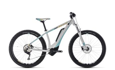 CUBE Access Hybrid Pro 500 white 'n' blue 2018