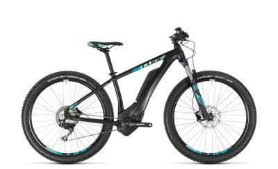 CUBE Access Hybrid Race 500 Woman black 'n' mint 2018