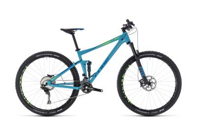 CUBE Stereo 120 Race blue 'n' green 2018