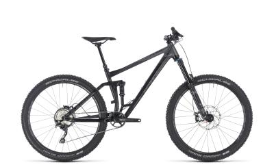 CUBE Stereo 160 Race black 'n' grey 2018