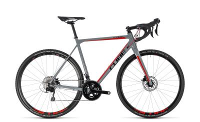 CUBE Cross Race Pro grey 'n' red 2018