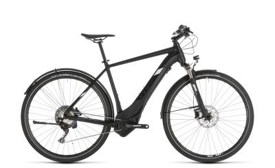 CUBE Cross Hybrid Race 500 Allroad black 'n' white 2019