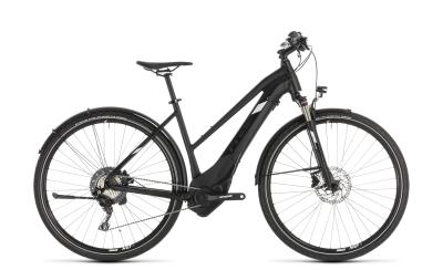 CUBE Cross Hybrid Race 500 Allroad black 'n' white Trapeze 2019