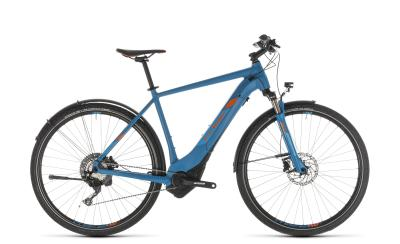 CUBE Cross Hybrid Race 500 Allroad blue 'n' orange 2019